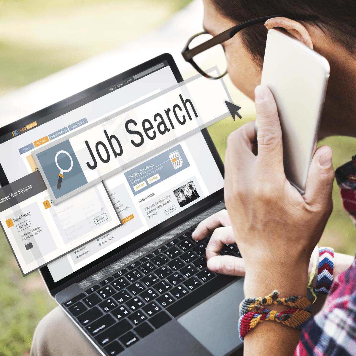 Job searching via the internet